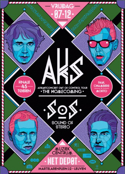 "AKS is very proud to announce the final leg of it's ""Out of Control"" tour."
