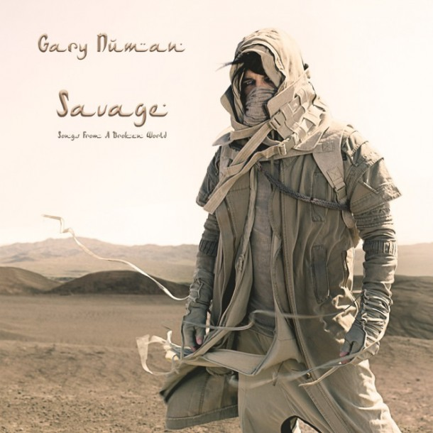 GARY NUMAN releases  SAVAGE: SONGS FROM A BROKEN WORLD today!