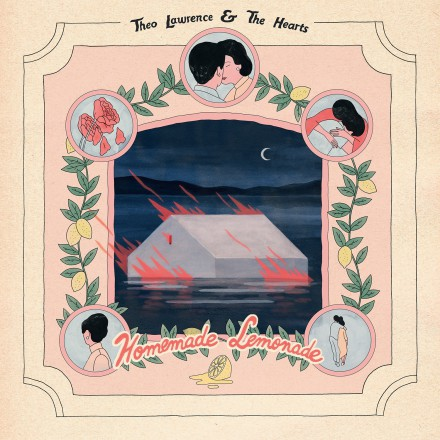 THEO LAWRENCE & THE HEARTS annoncent leur premier album HOMEMADE LEMONADE, sortie le 27 avril!