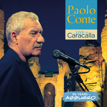 PAOLO CONTE releases new album 'LIVE IN CARACALLA'