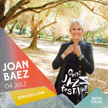 JOAN BAEZ headlines 4th day Gent Jazz Festival!