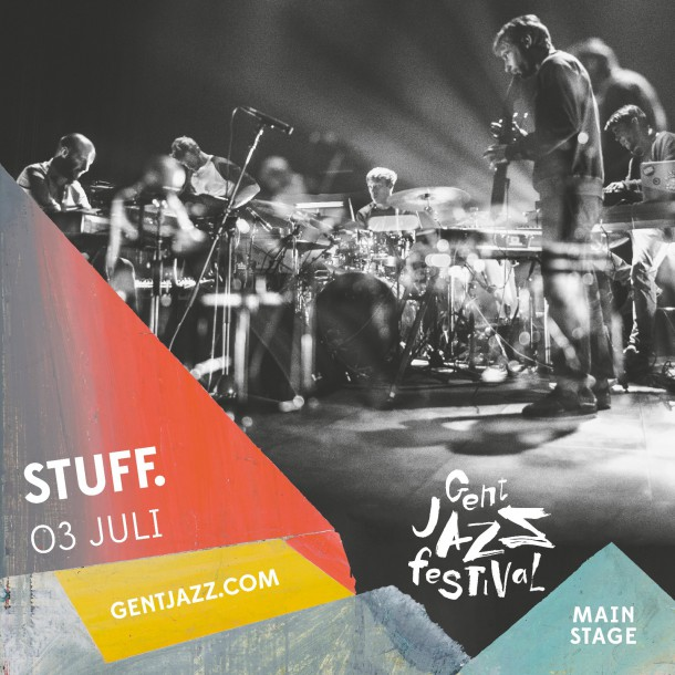 GENT JAZZ FESTVAL to tear down jazz walls with STUFF., Moses Boyd Exodus, James Holden and Terence Blanchard