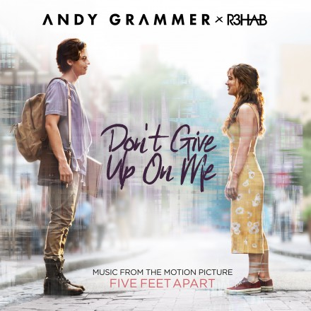 ANDY GRAMMER launches new single DON'T GIVE UP ON ME!