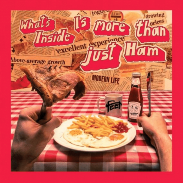 FEET announce debut album WHAT'S INSIDE IS MORE THAN JUST HAM!
