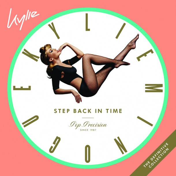 KYLIE MINOGUE releases best of album 'STEP BACK IN TIME'