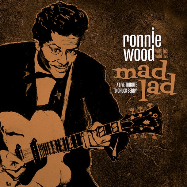 RONNIE WOOD to release new album 'MAD LAD' in november