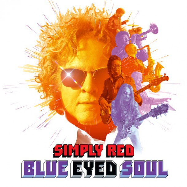 SIMPLY RED releases new album 'BLUE EYED SOUL'