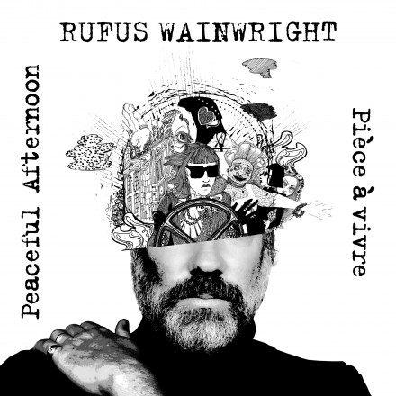 RUFUS WAINWRIGHT unveils new single 'PEACEFUL AFTERNOON' / 'PIECE A VIVRE'