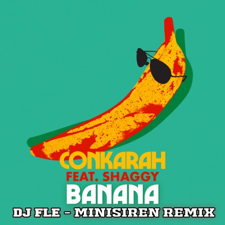 CONKARAH FT SHAGGY release video for hit single 'BANANA'
