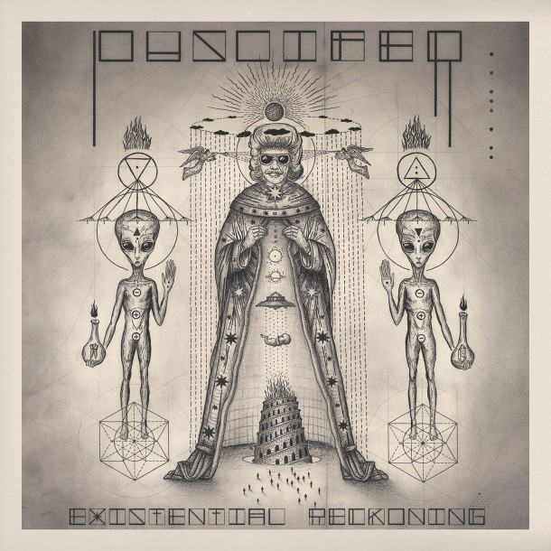 PUSCIFER celebrate release of new album 'EXISTENTIAL RECKONING'