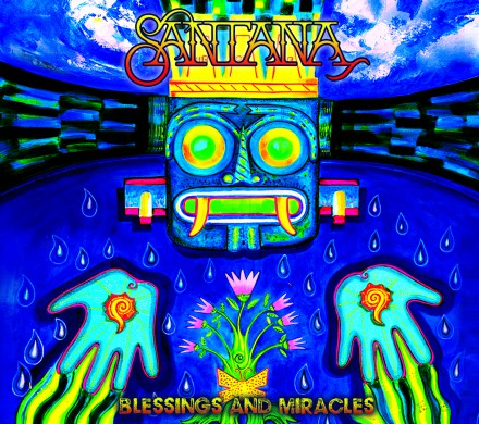 SANTANA presents his new album 'BLESSINGS AND MIRACLES'